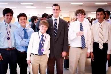 Middle School Graduation Suits Rose Tuxedo