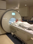 Fun times.  No, really. Amazing how cozy and nice an MRI is with the right drugs!
